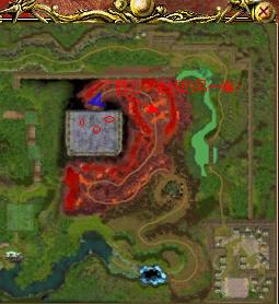 传送阵心后的地图
